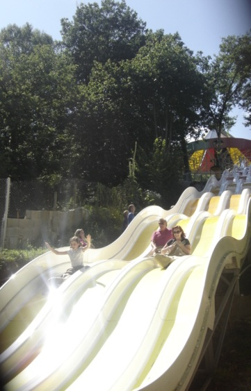 50m slide Parc Pierre Brune