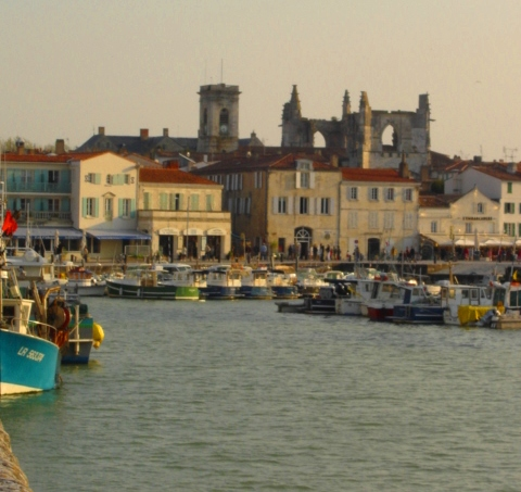 The old town and port - Ile de Ré
