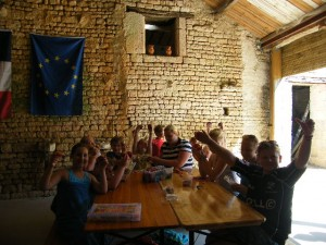 Holiday Club in the barn at La Boulinerie