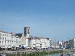 The old port at La Rochelle