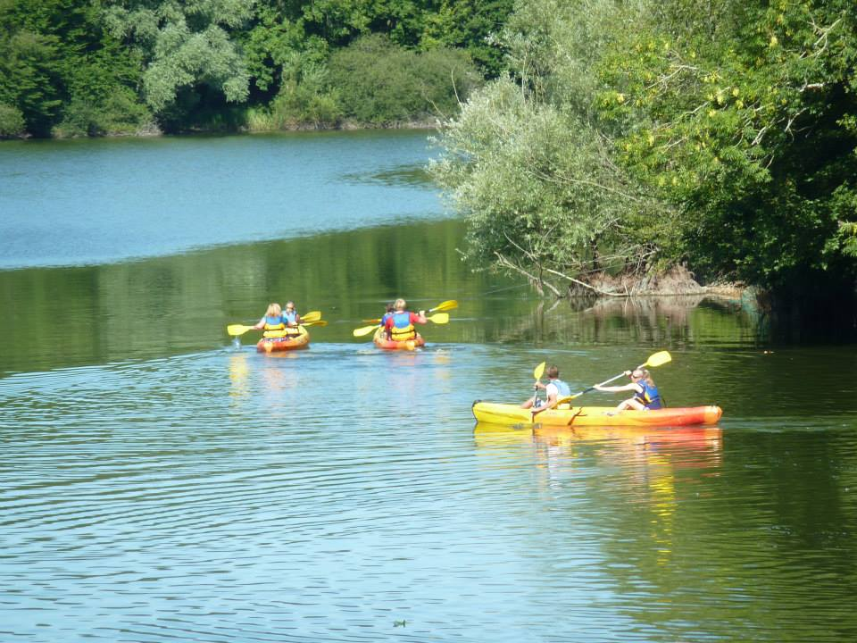Kayaking at Mervent Lake
