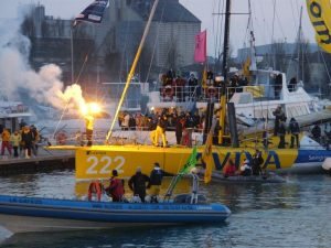 The Vendee Globe - The return to Les Sables d'Olonne