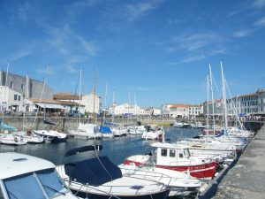 The old port at Les Sables d'Olonne