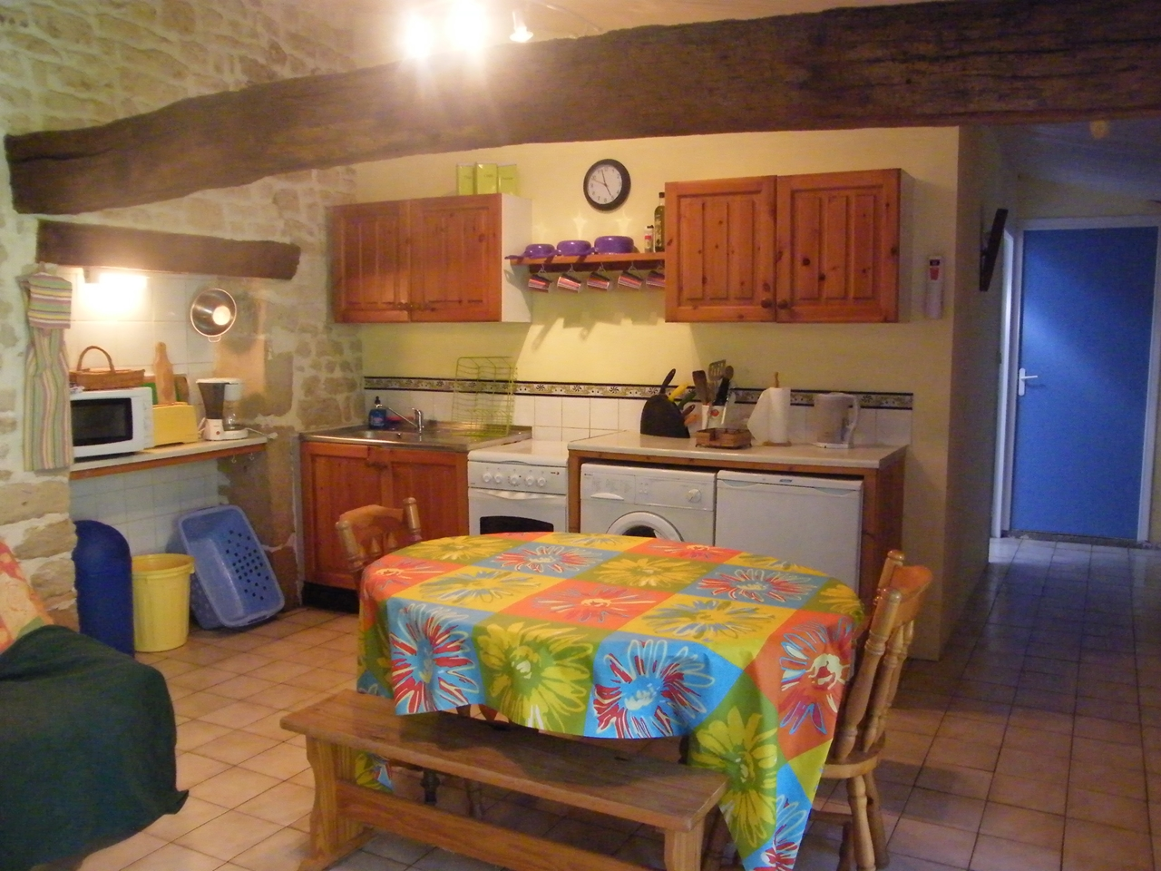 Le Jardin Clos - kitchen area